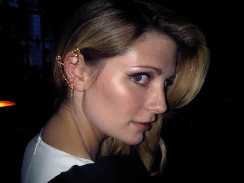 mischa barton ear cuff The New Bling: Ear Cuffs! Would You Wear Them Or Not?
