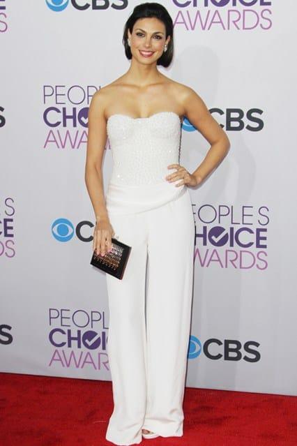 Morena Baccarin at People's Choice Awards 2013, photo via Vogue