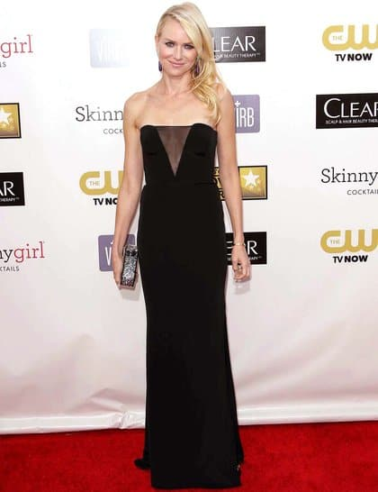Naomi Watts at Red Carpet Critics Choice Awards 2013