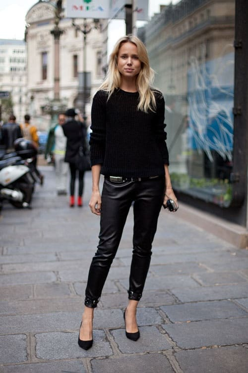 office-look-all-black-leather-pants
