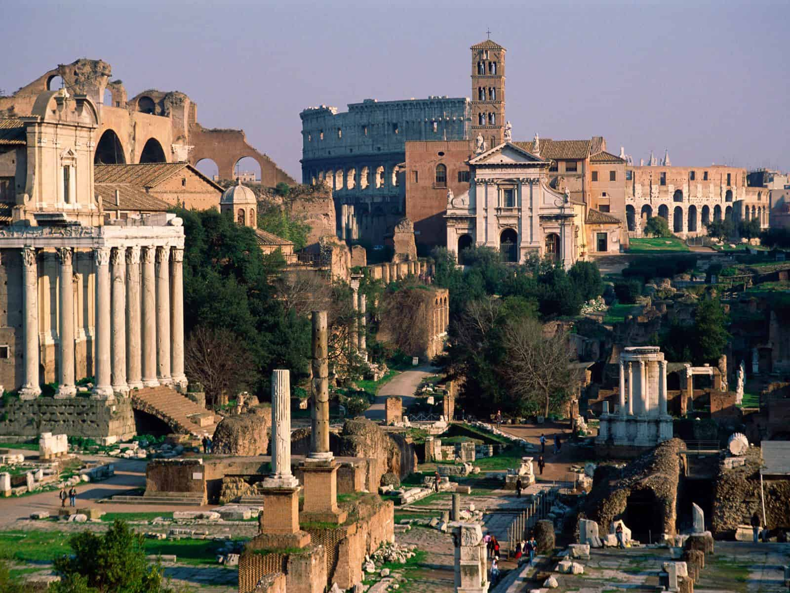 roman forum rome italy Where Would I Go For A £1,000 Grand Adventure Trip?