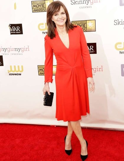 Sally Field at Red Carpet Critics Choice Awards 2013