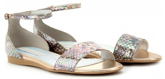 stella mccartney holographic sandals The Holographic Trend! Retro Futuristic Glam Luxe Or Kitsch?