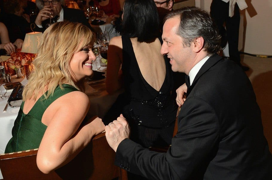 Amy-Poehler-Judd-Apatow-vanity-fair-oscar-party-2013