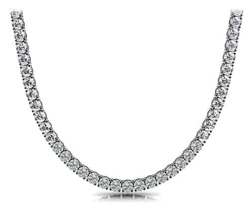 anjolee-Diamond Necklace