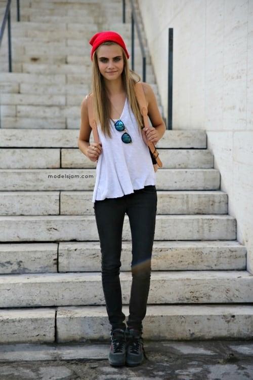 Cara Delevingne A Brand A Supermodel The Fashion Tag Blog