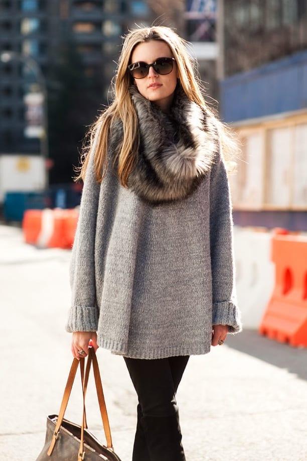 fur-scarf-style