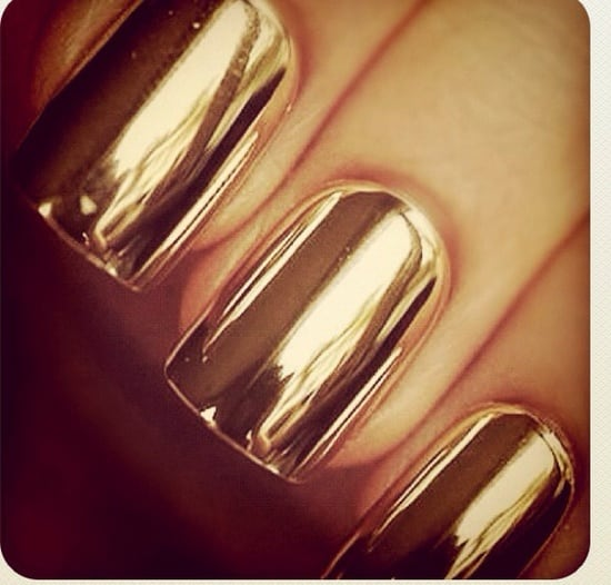 gold-metallic-nails-2013-spring