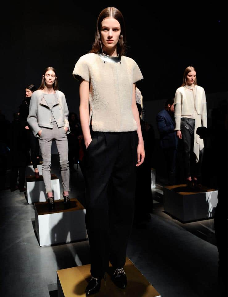 J Brand - New York Fashion Week, 2013/2014 Fall Winter Collection