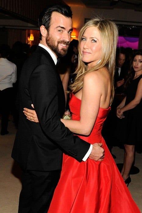 Justin-Theroux-Jennifer-Aniston-oscar-party