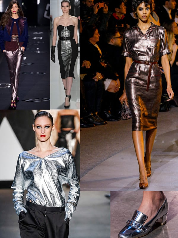 metallics fall 2013 2 ... More Trends Spotted At New York Fashion Week!