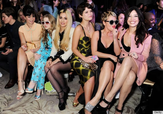Moschino cheap&chic - Front Row - LFW F/W 2013