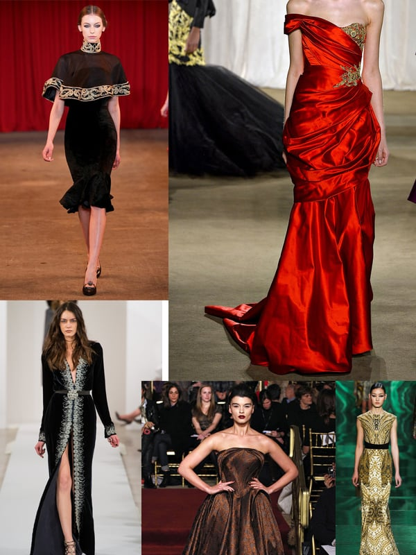 opulence fall 2013 2 ... More Trends Spotted At New York Fashion Week!