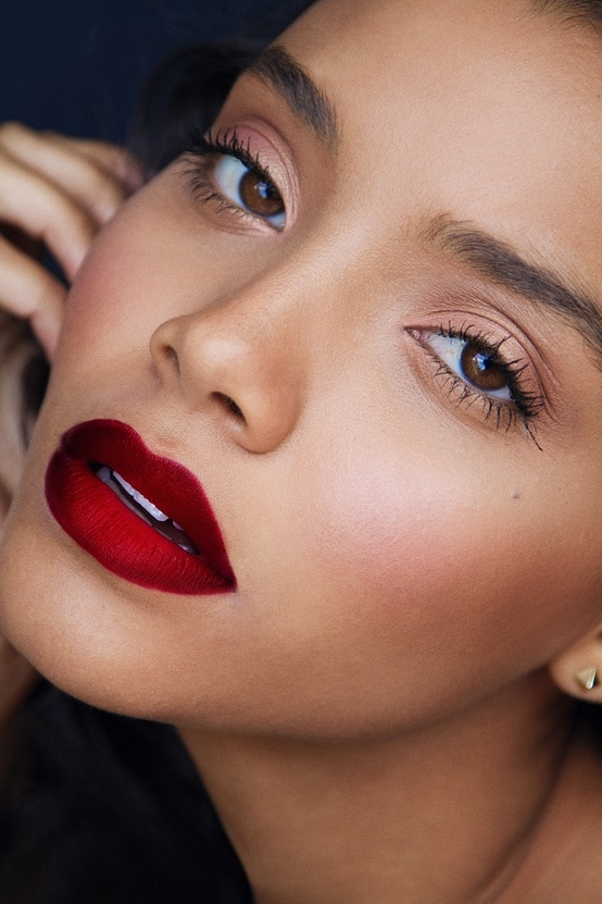 red-lips-makeup-valentine's-day