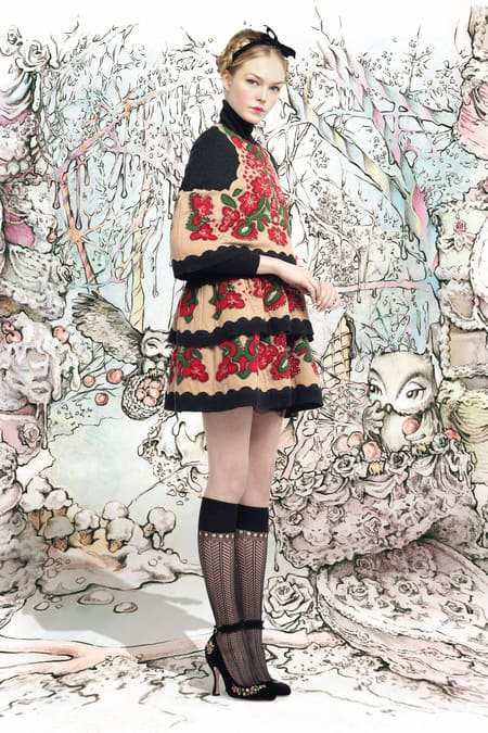 Red Valentino  - New York Fashion Week, 2013/2014 Fall Winter Collection
