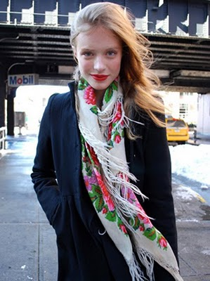 russian-scarf-style