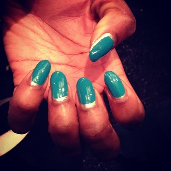 two-toned-nail-style