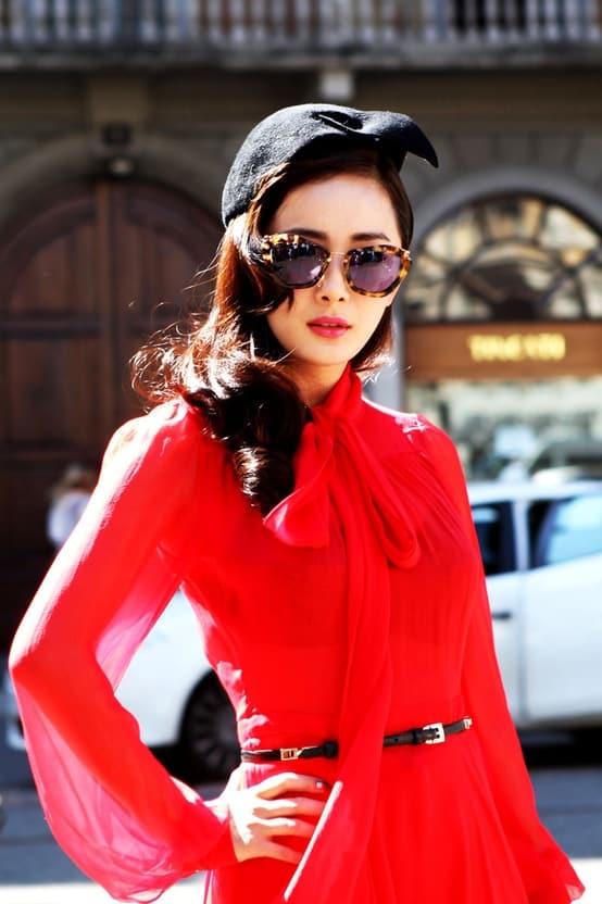 valentine's-day-red-silk-dress