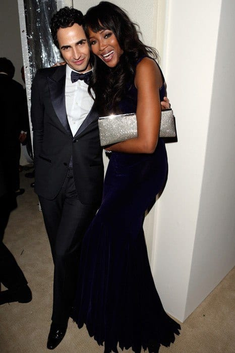 vanity-fair-oscar-party-2013-Zac-Posen-Naomi-Campbell