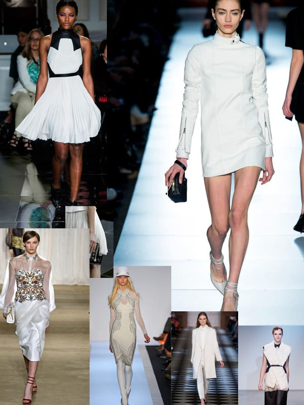 white fall 2013 1 ... More Trends Spotted At New York Fashion Week!