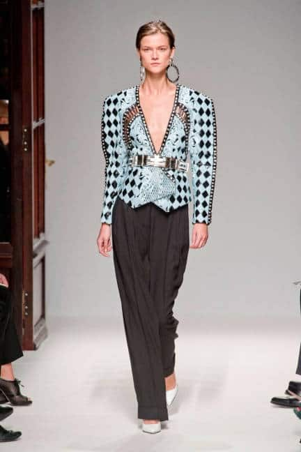balmain checkerboard Will The Checkered Obsession Take Over This Spring? YES Or NO To The Checkerboard Print Trend?