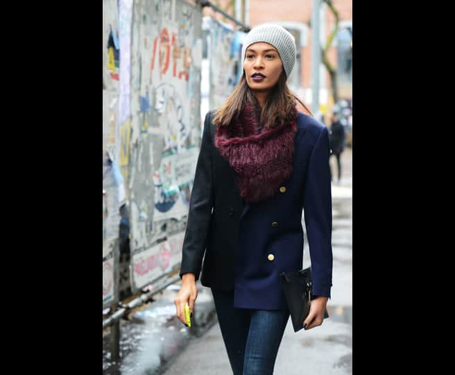 Street Styles At Fashion Week! Are We Obsessed With Beanies 4df812cb894