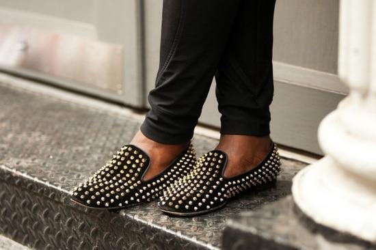 black-stud-loafers
