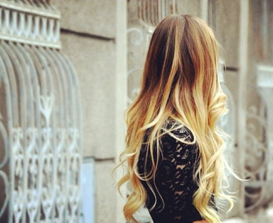 blonde dip dyed hair What Are The Biggest Hair Trends For 2013? Get Some Color Inspiration...