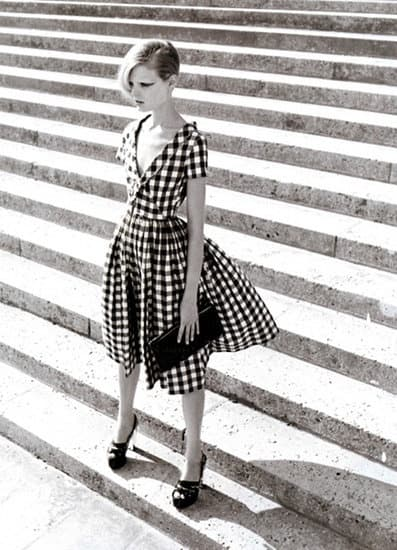 check print dress 2 Will The Checkered Obsession Take Over This Spring? YES Or NO To The Checkerboard Print Trend?