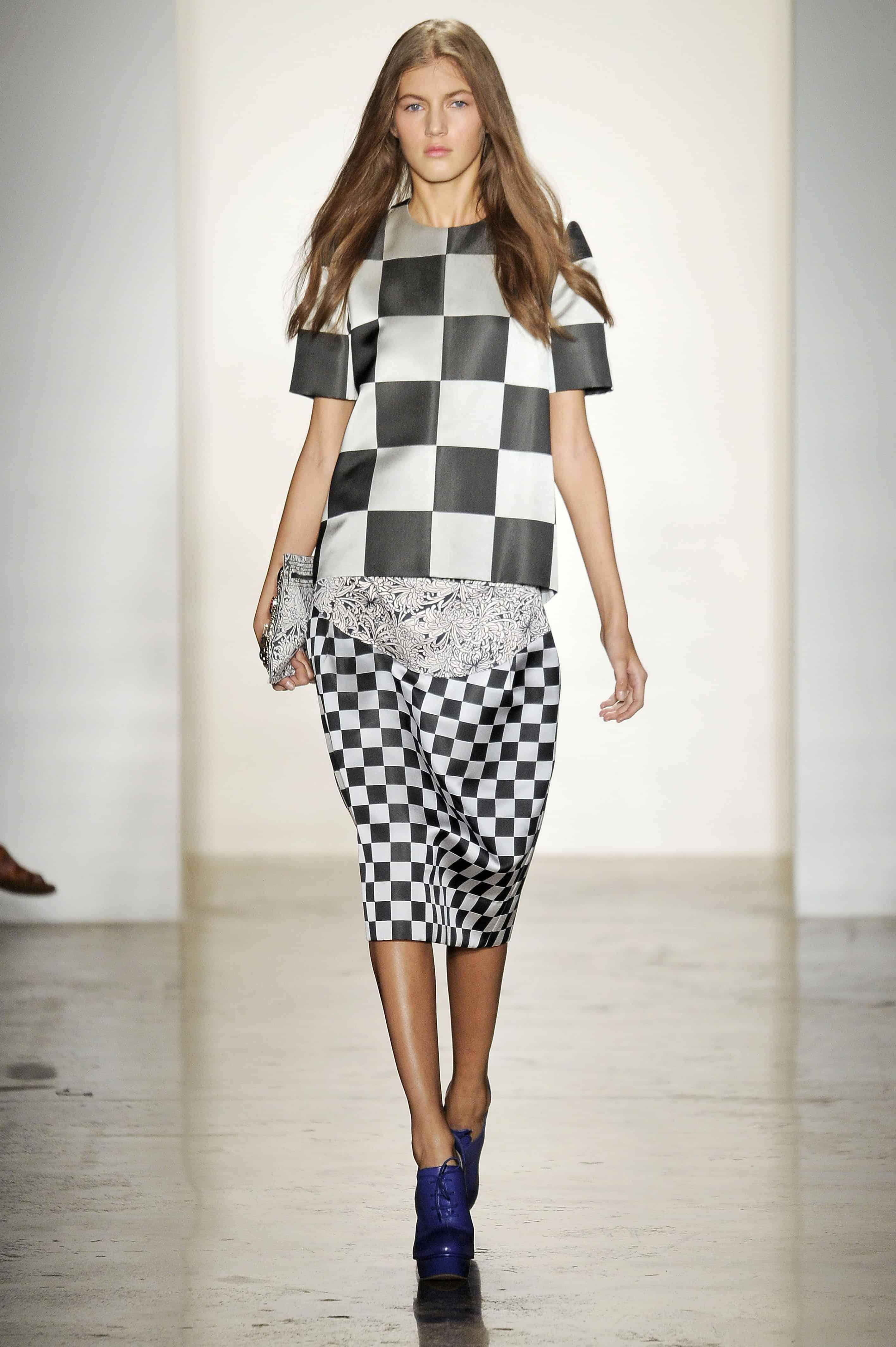 checkerboard-look