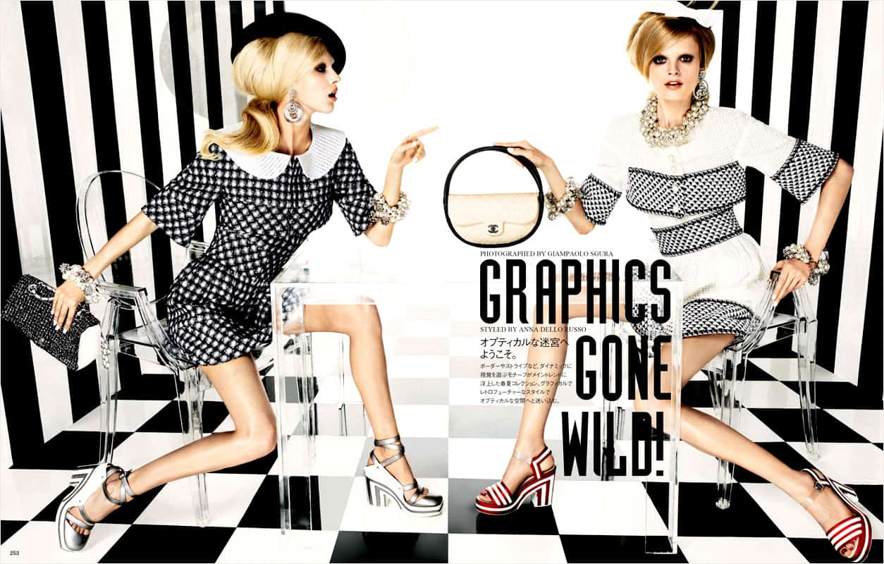 checkered trend 2 Will The Checkered Obsession Take Over This Spring? YES Or NO To The Checkerboard Print Trend?