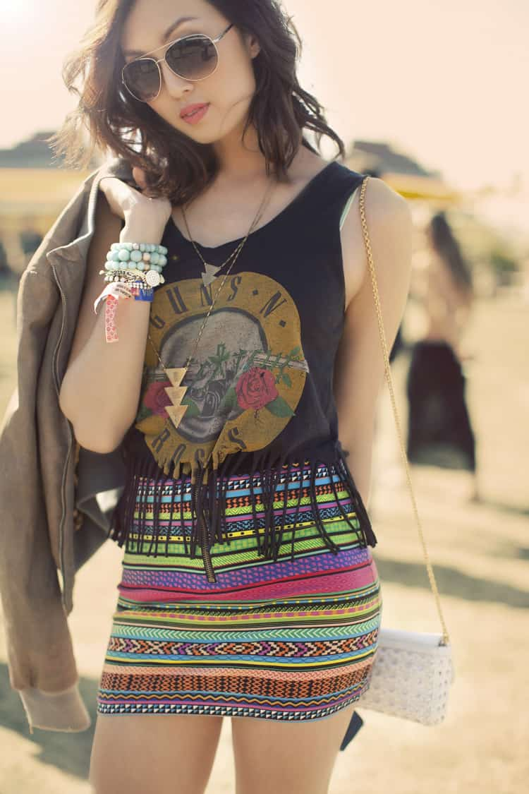 Coachella Fashion Close Up What To Wear To The Festival