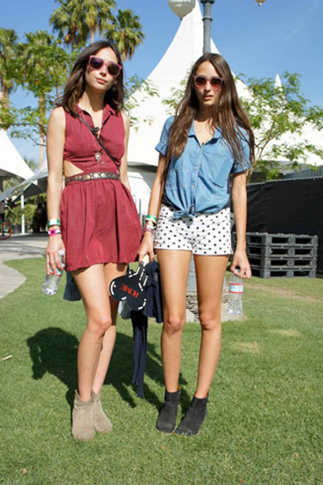 Coachella Fashion Close-up! What To Wear To The Festival? Grunge u0026 Boho-chic Looks u0026 Styles ...