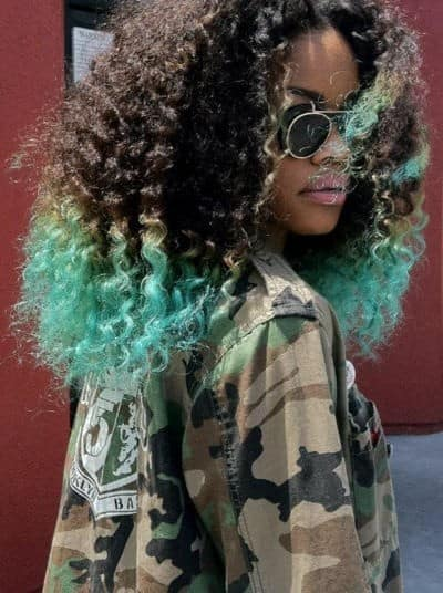green dip dyed hair What Are The Biggest Hair Trends For 2013? Get Some Color Inspiration...