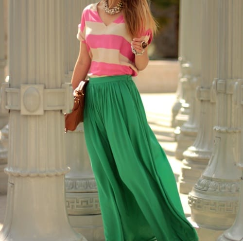 green-maxi0skirt-st-patrick-day
