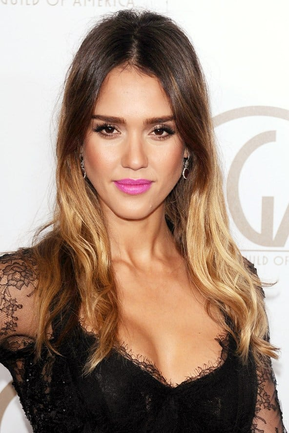jessica alba dip dyed hair What Are The Biggest Hair Trends For 2013? Get Some Color Inspiration...