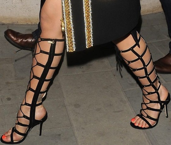 High Gladiator Sandals - Trend Alert For Spring! Do You Love The