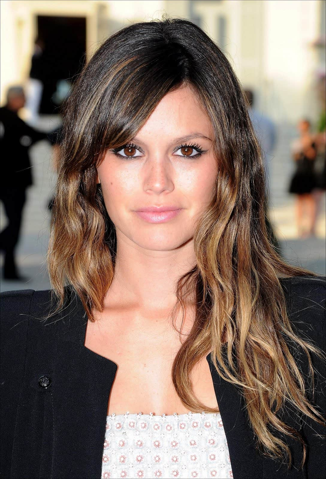 rachel bilson dip dyed What Are The Biggest Hair Trends For 2013? Get Some Color Inspiration...