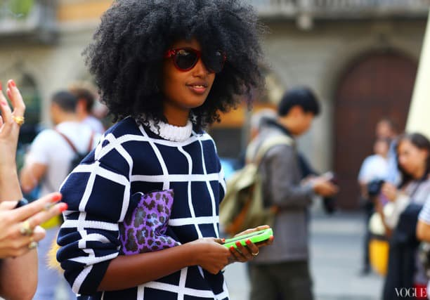 square prints street style Will The Checkered Obsession Take Over This Spring? YES Or NO To The Checkerboard Print Trend?