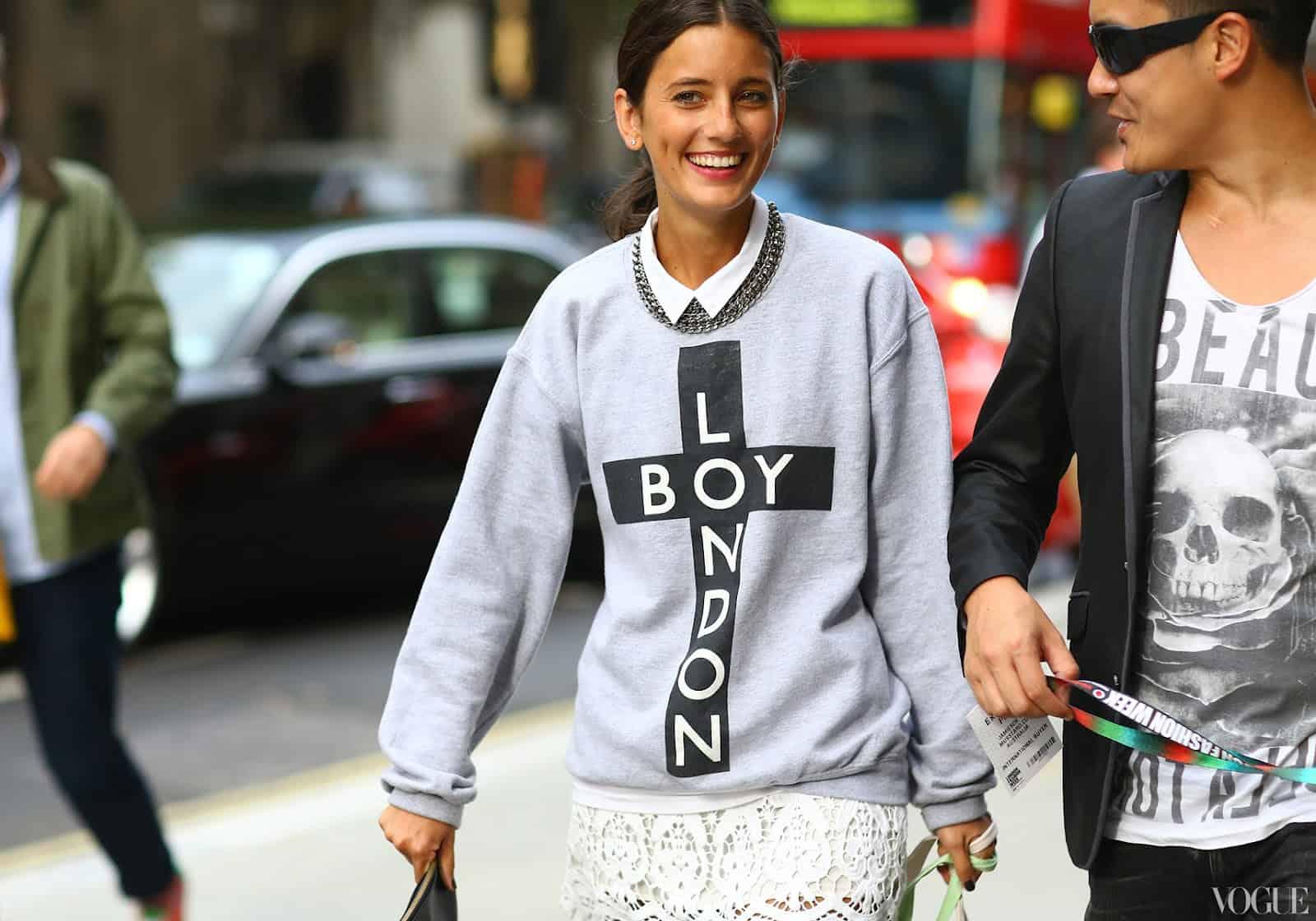 Fashionforward street style looks in