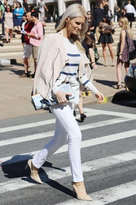 white-heels-pants-blazer