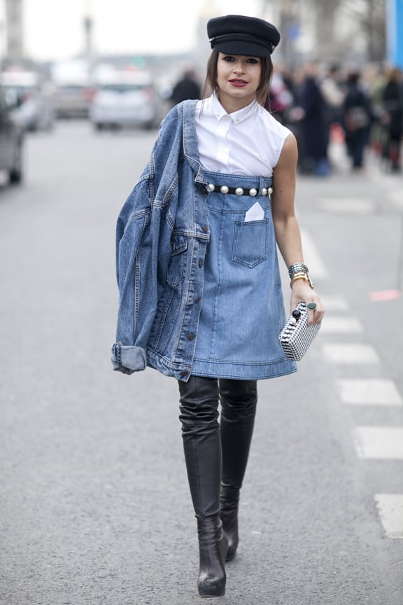 miroslava-duma-denim-dress