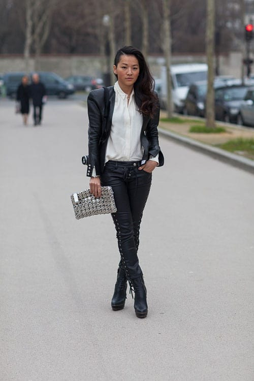 street-style-leather-suit