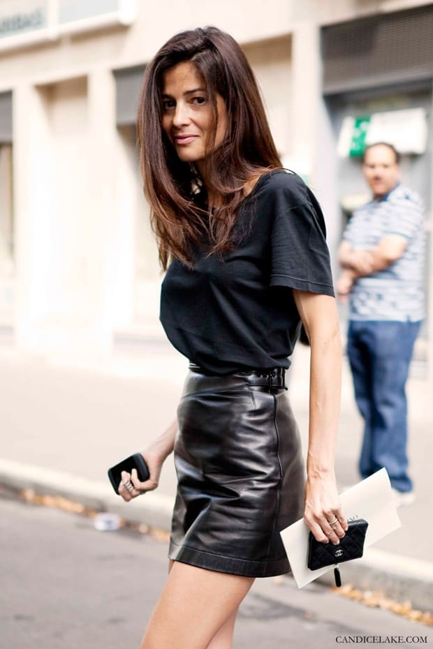 11f30f9ec How To Style Black mini LEATHER SKIRTS? – The Fashion Tag Blog