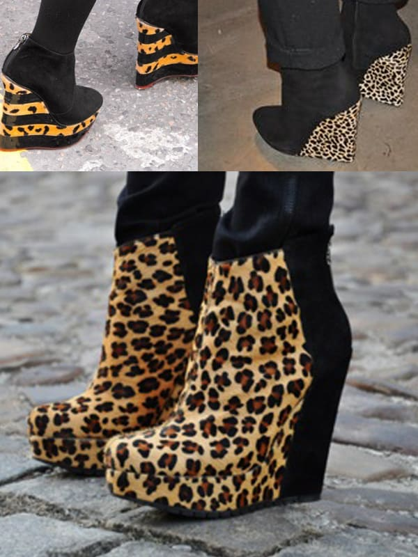 animal-print-wedges