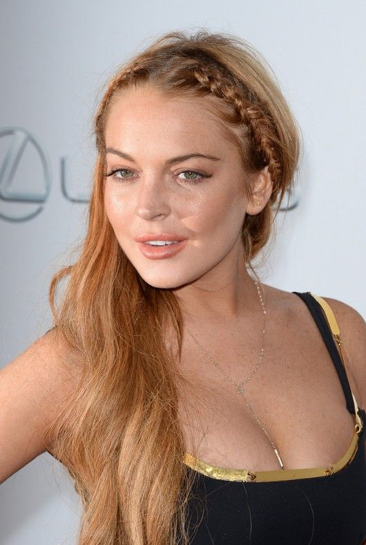 briaded-hairstyle-lindsey-lohan