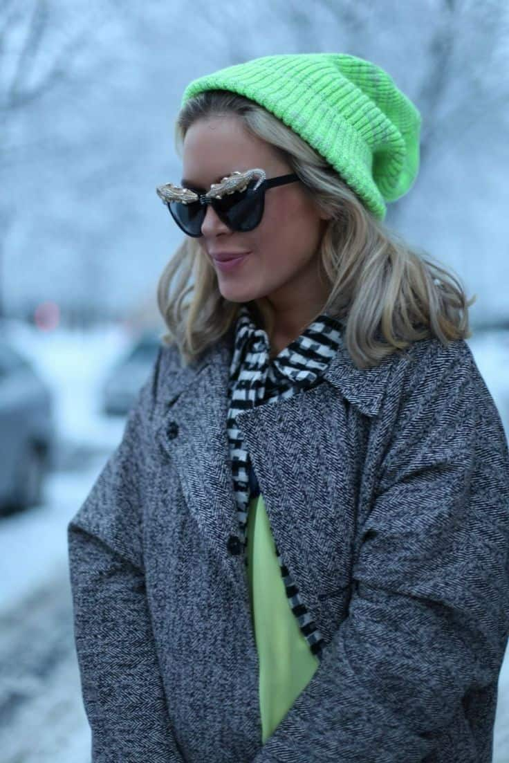colored beanie look 2013 Fall Trend: BEANIES!