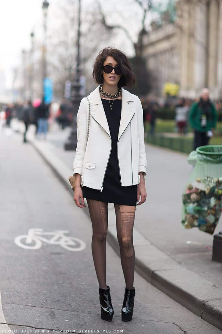 grunge-look-white-leather-jacket