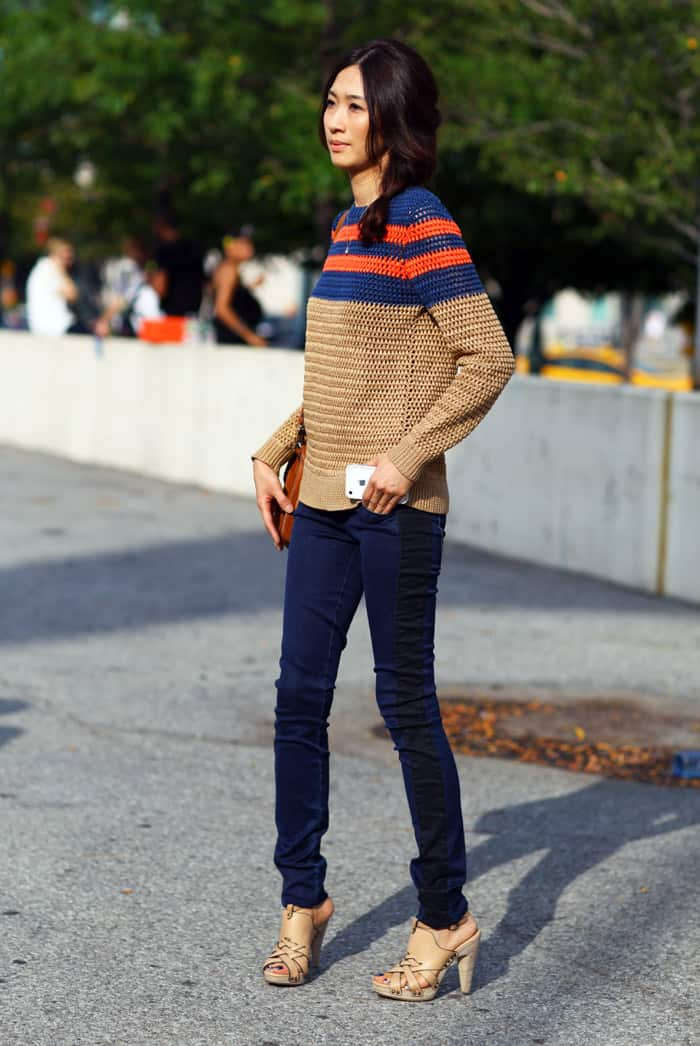 jason wu striped sweater SWEATERS Styles For Fall. One Trend OR All Is In?