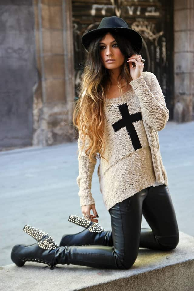 jumper look SWEATERS Styles For Fall. One Trend OR All Is In?